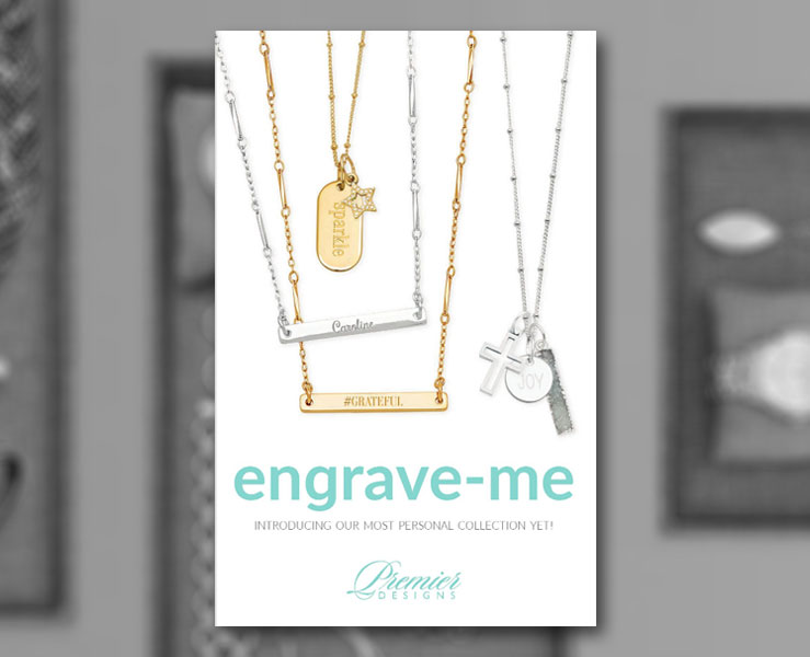 The Premier Designs Engrave-Me Catalog