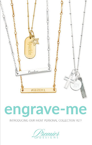 Premier Designs Engrave-Me Catalog Cover